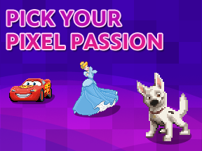 Pick your Pixel Passion