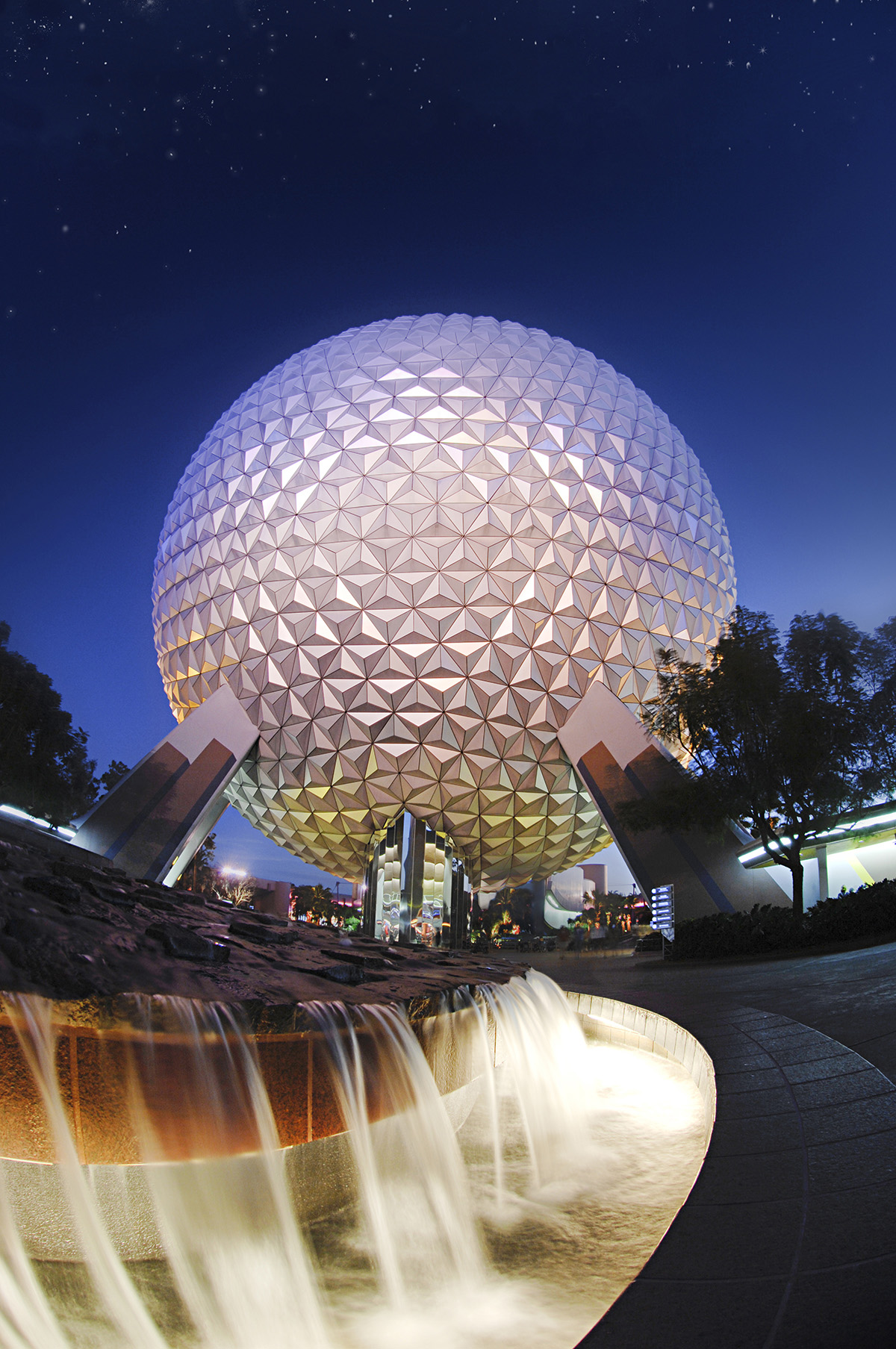 Spaceship Earth -Signature Shot 1200