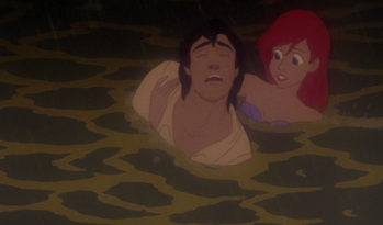Ariel Saves Prince Eric The Little Mermaid