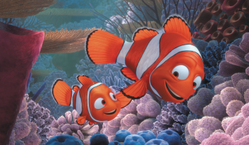 Nemo and Marlin Finding Nemo