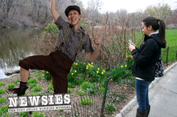 Newsies Photo Booth 9