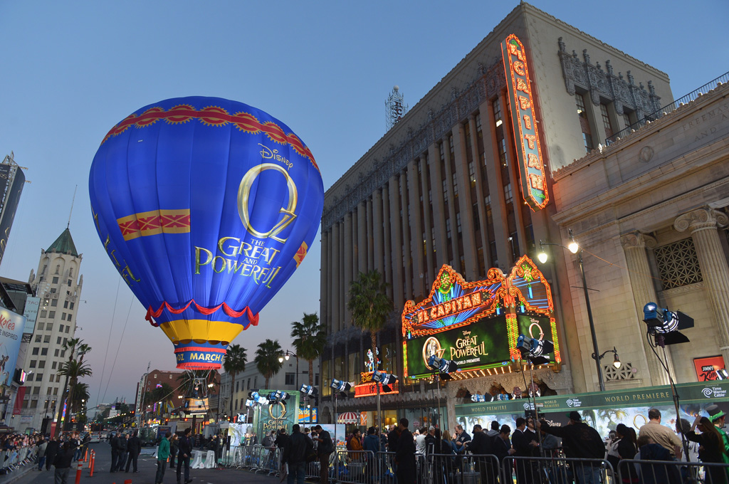 "Walt Disney Pictures Premiere Of ""Oz The Great And Powerful"" - Red Carpet"