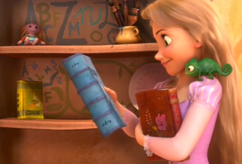 Tangled Read a Book