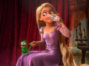 Tangled Rapunzel Ventriloquy
