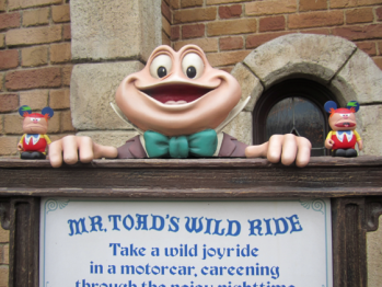 Alice in Wonderland Tweedle Mr. Toad's WIld Ride