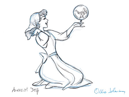 Cinderella Development Art