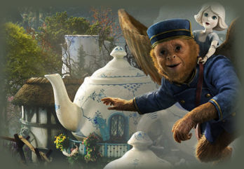 Oz The Great and Powerful Teapot 530