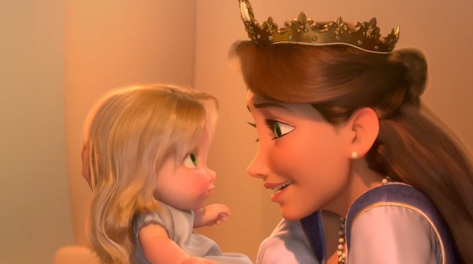 Disney Mom- Queen Tangled