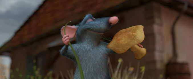 Pixar film, Remy from Ratatouille