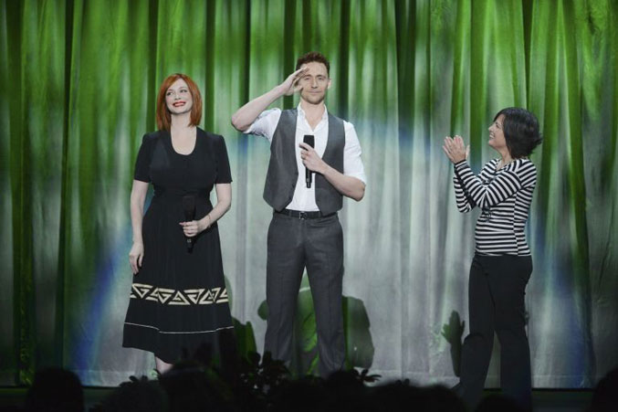 D23-Christina-Hendricks-and-Tom-Hiddleston